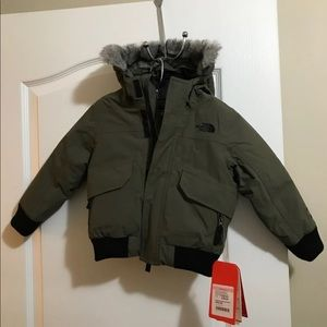 The North Face Gotham II toddler 3T green olive